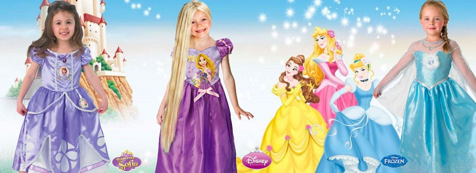 Déguisements de princesse disney